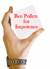 Can Bee Pollen Cure Impotence
